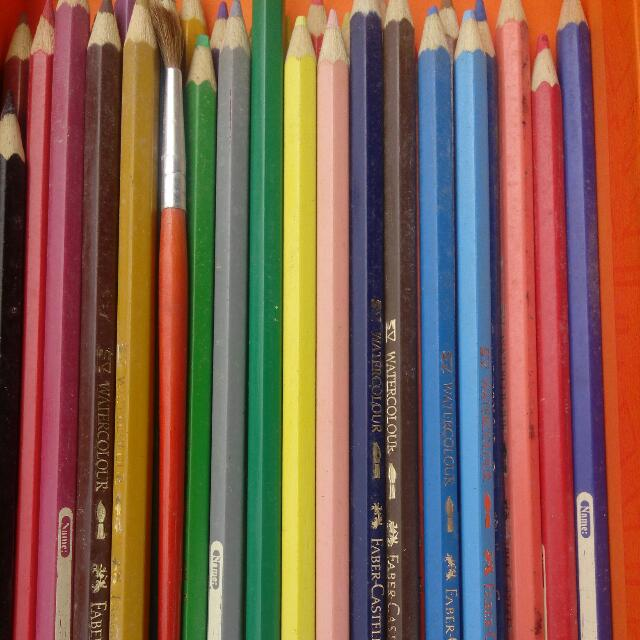 Pensil Warna Water Colour Faber Castell