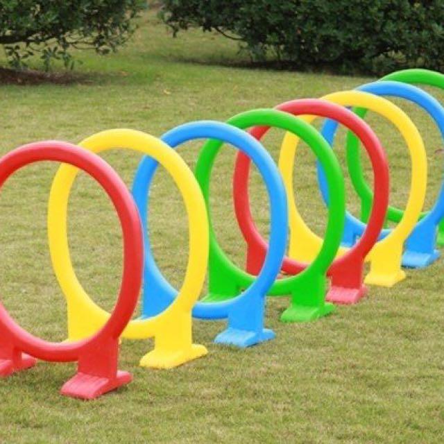 PLASTIC CIRCLE TOYS