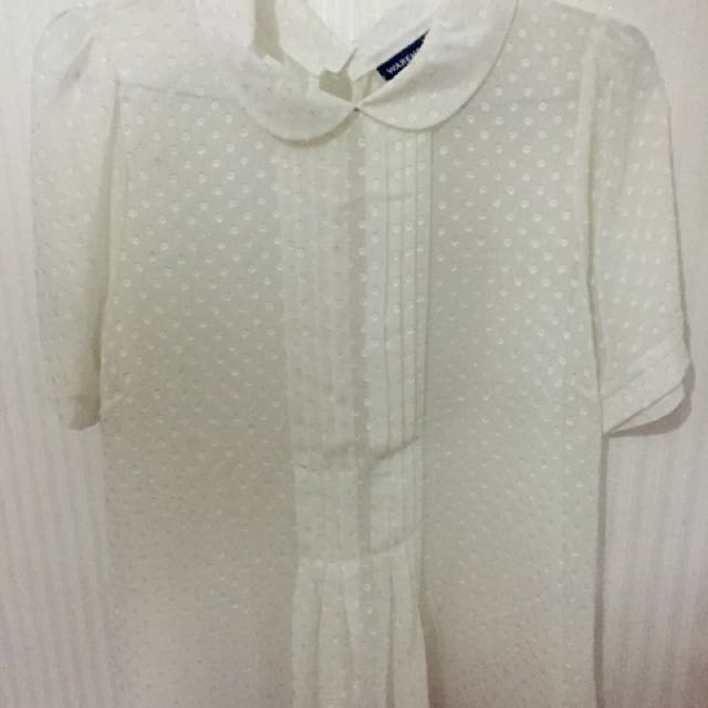 Preloved Warehouse White Top