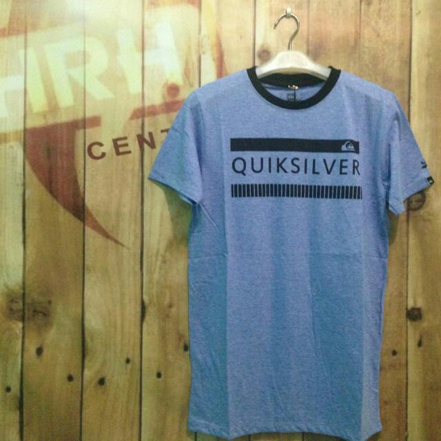Quicksilver Baju Kaos Pendek Distro Surfing Unisex