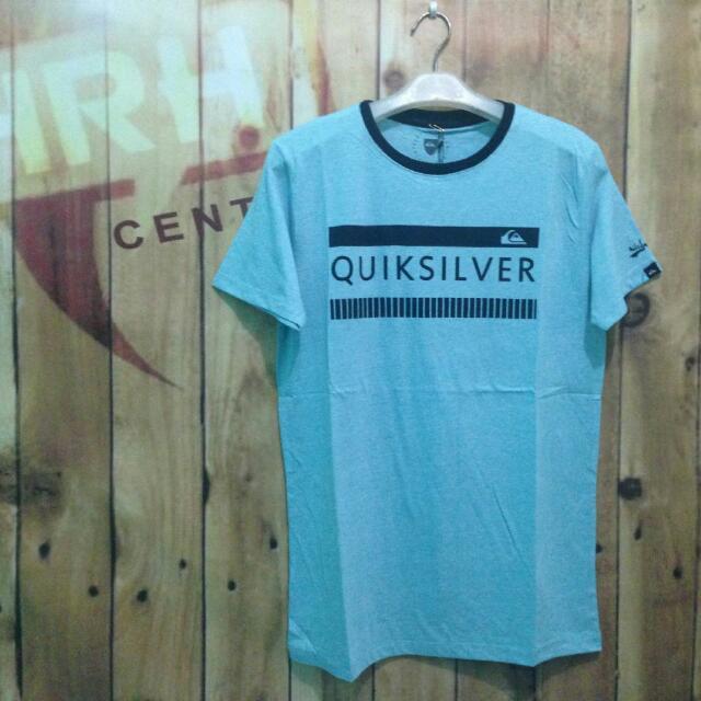 Quicksilver Baju Kaos Pendek Surfing Distro