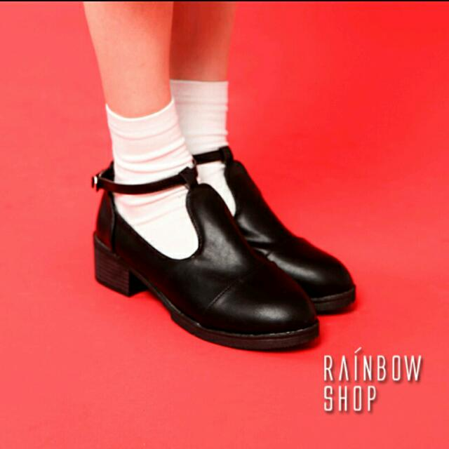🌸rainbow shop 復古 瑪莉珍鞋 37號 跟鞋