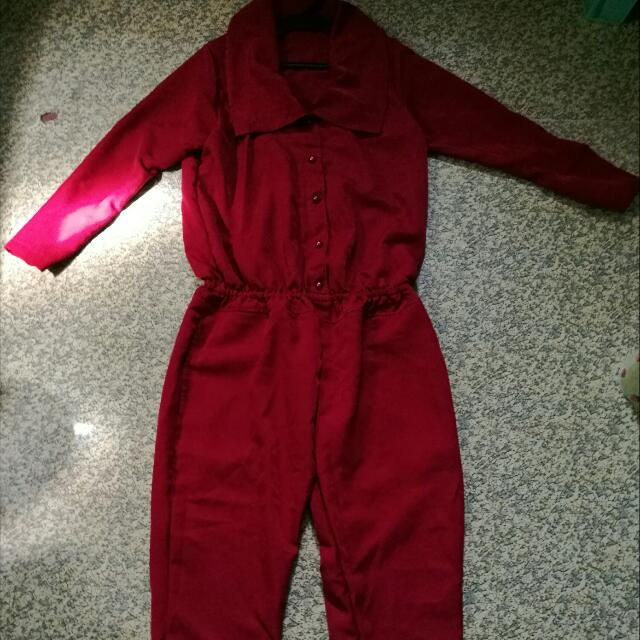 Red Jumpsuit for Women