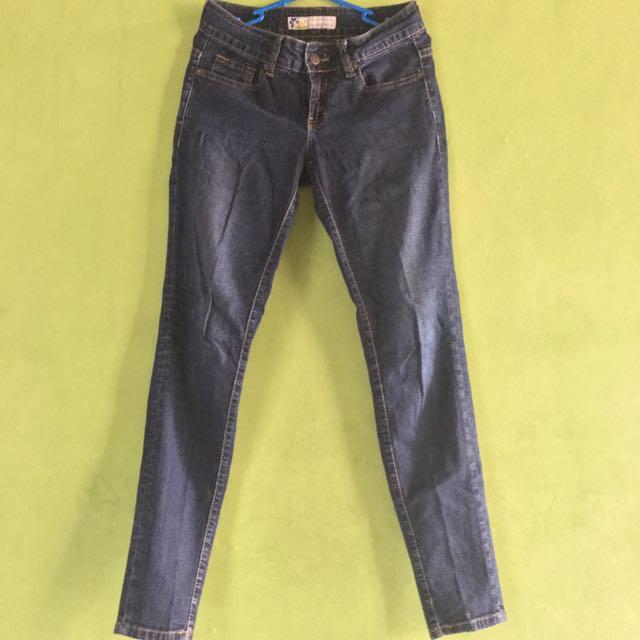 SALE! Celana Skinny Jeans Biru Tua Lois (original)