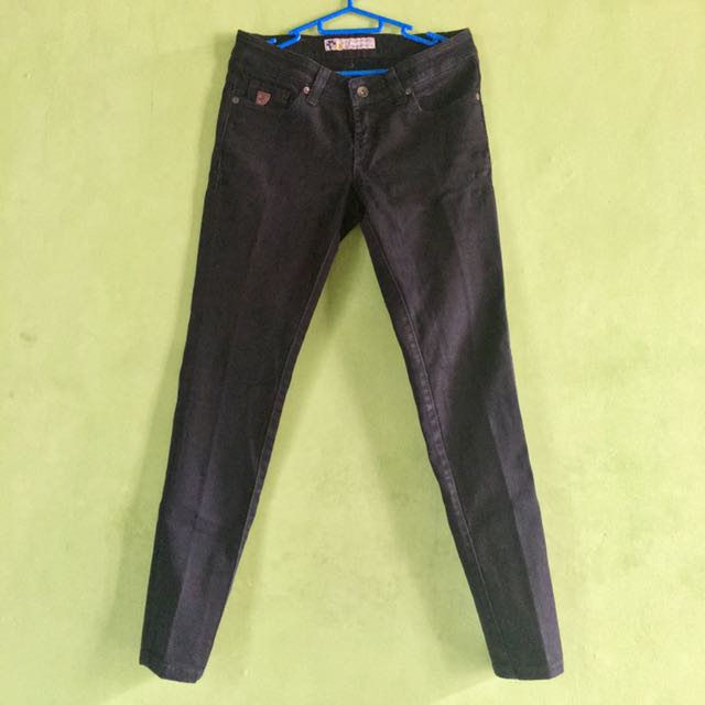 SALE! Celana Skinny Jeans Hitam Lois Original Female Edition
