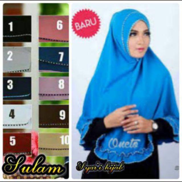 #Midnightsale Ngabisin Stock Hijab Syar,i