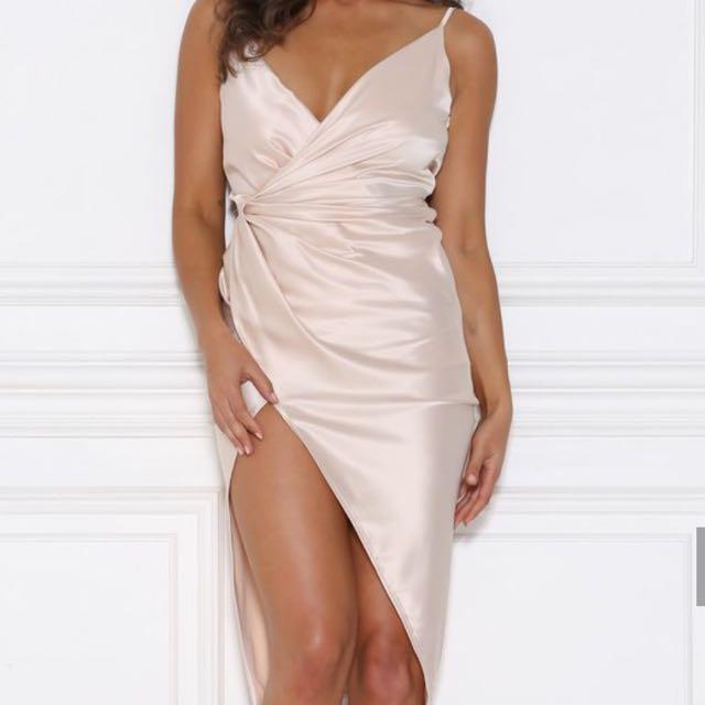 Sasha Satin Dress