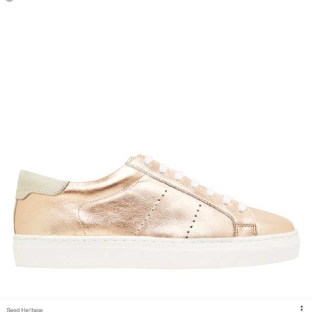 Seed Heritage Size 36 Georgina Lace Up Sneakers