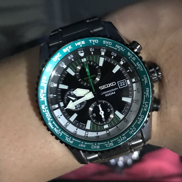 best website 08f07 37b51 Seiko 7T92-0MM0, Men's Fashion, Watches on Carousell