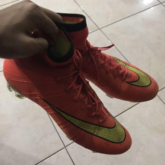 Sepatu Bola Nike Superfly Original Used 90%
