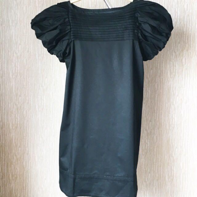 Short sleeves Black Dress  ZARA WOMAN