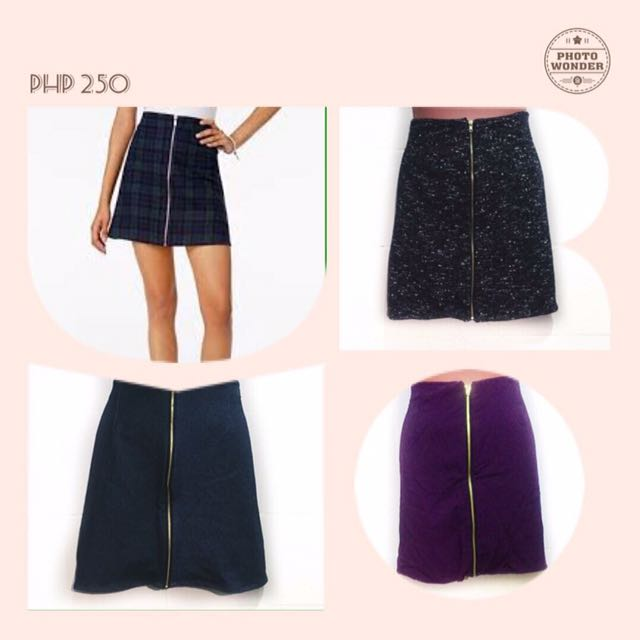 Skirt With Zipper