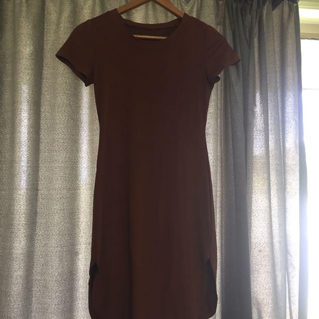 Soft Brown Dress