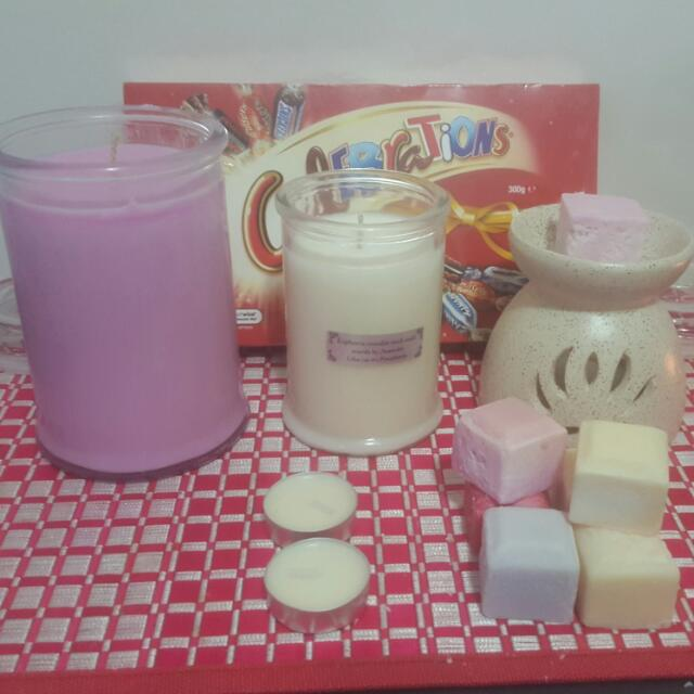 Soy Wax Candle Gift Hampers