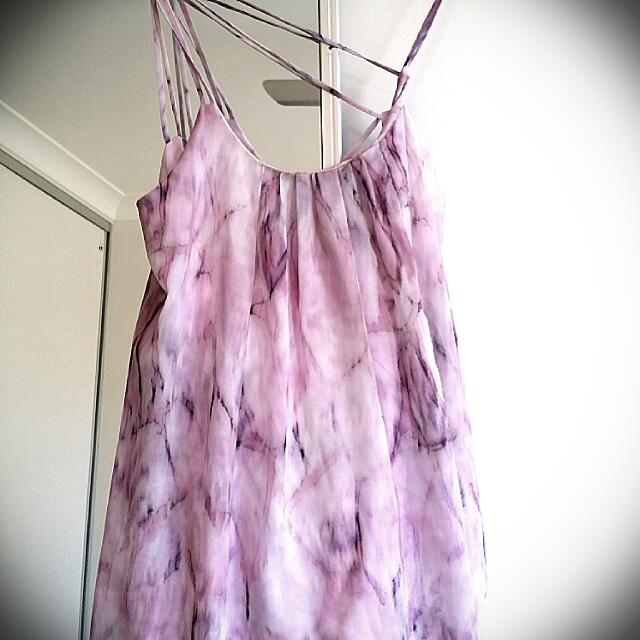 Stella Forest Purple Marble Dress