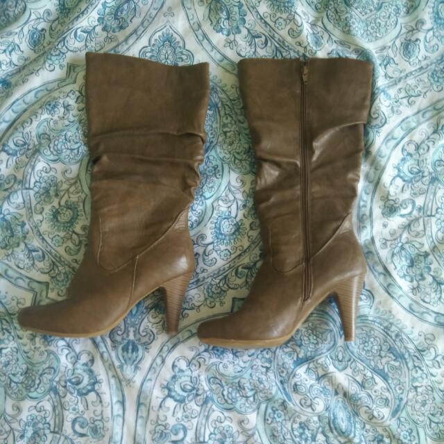 Suzy Shier High Heel Boots