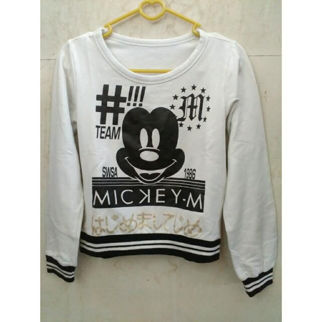 Sweater Crop Mickey