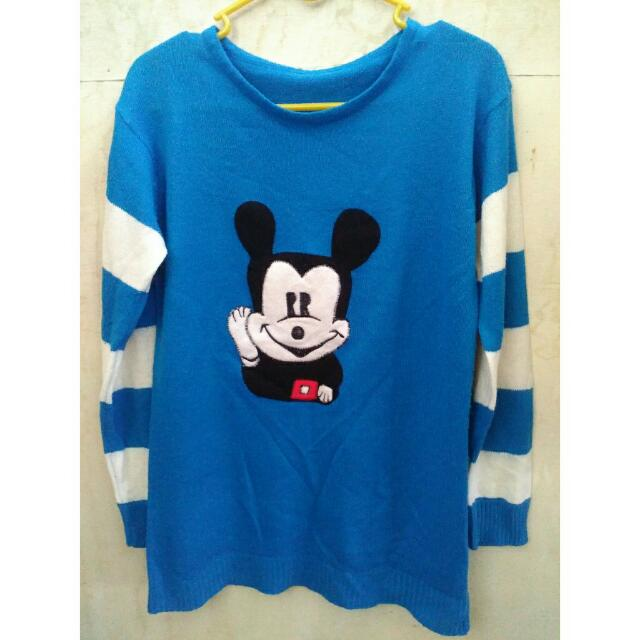 Sweater Mickey Blue