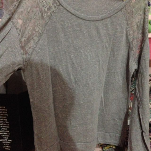 [TALLY WEAR] Grey Tshirt