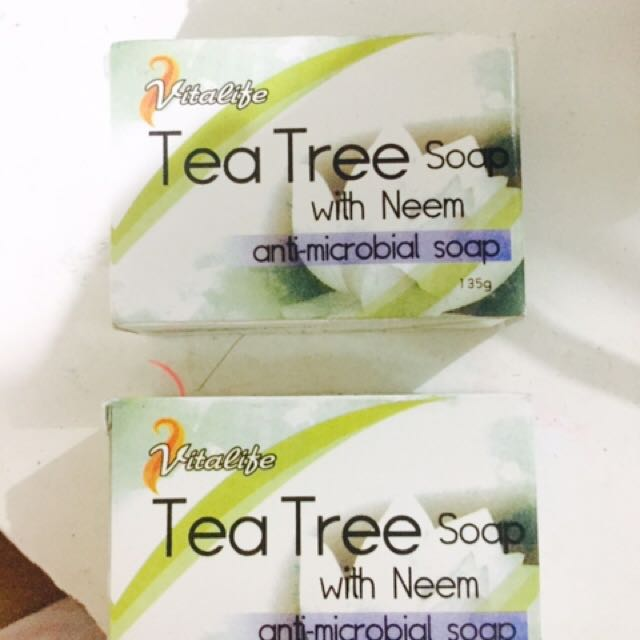 Tea tree Soap With Neem Anti-microbal Soap