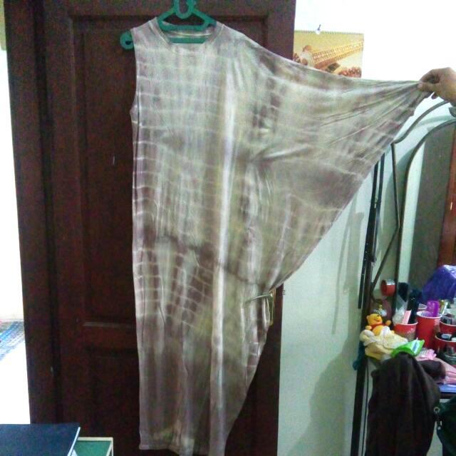 Tie Dye Gamis One Sleeve