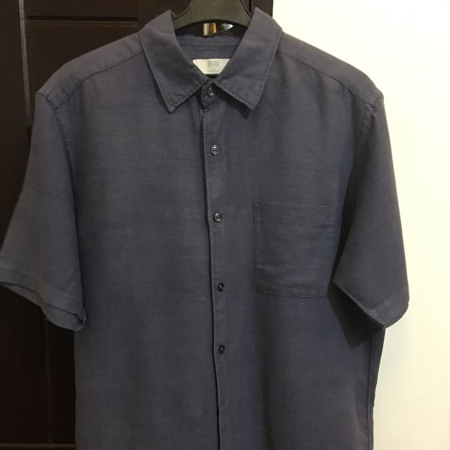 UNIQLO Dark Blue Polo (Medium)