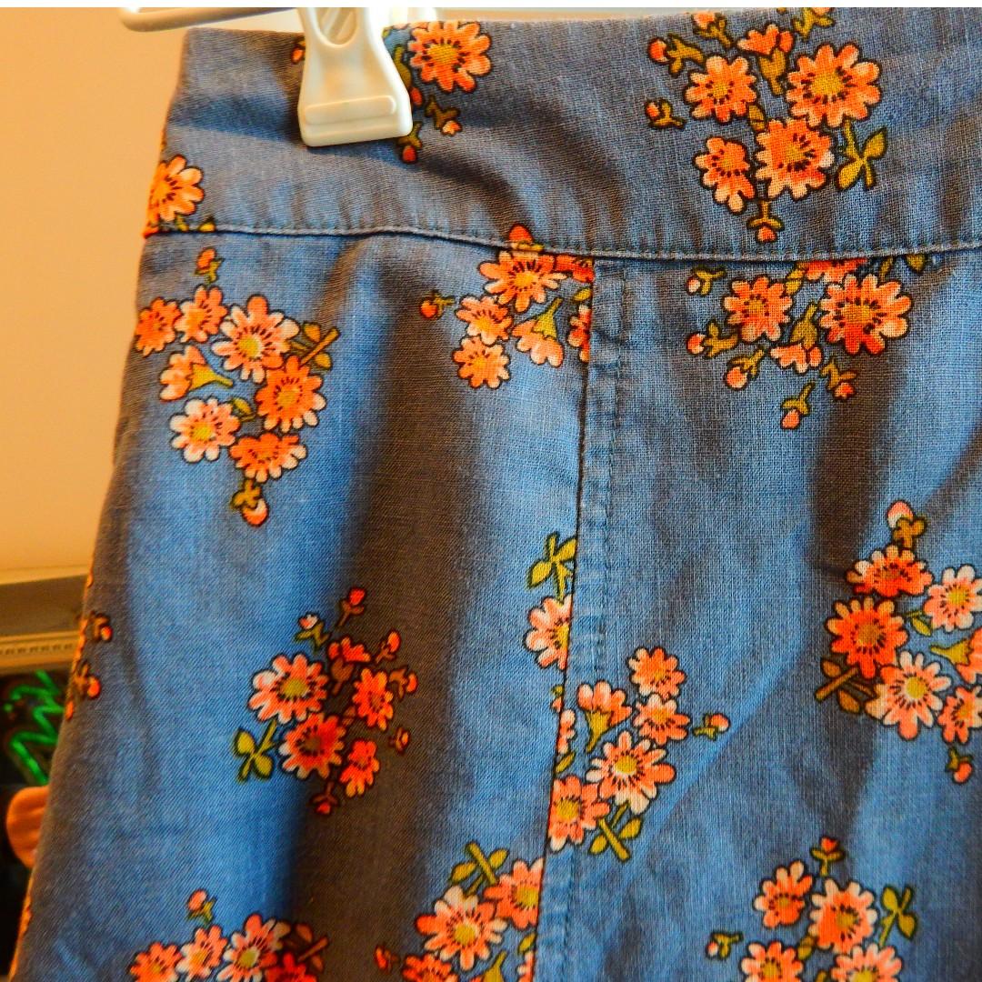 Unique Denim Skirt Princess Highway Size 10