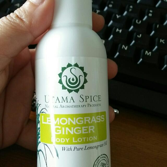 Utama Spice Body Lotion Lemongrass Ginger