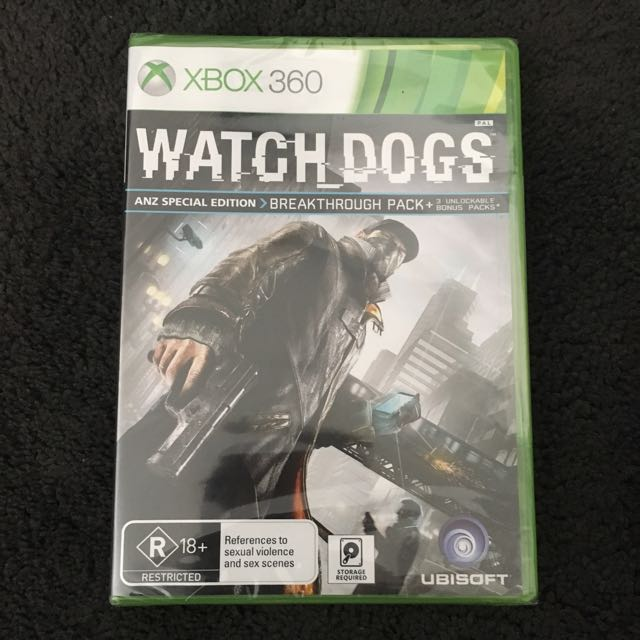 Watch Dogs (XBox 360) - BRAND NEW AND SEALED w/ FREE POSTAGE