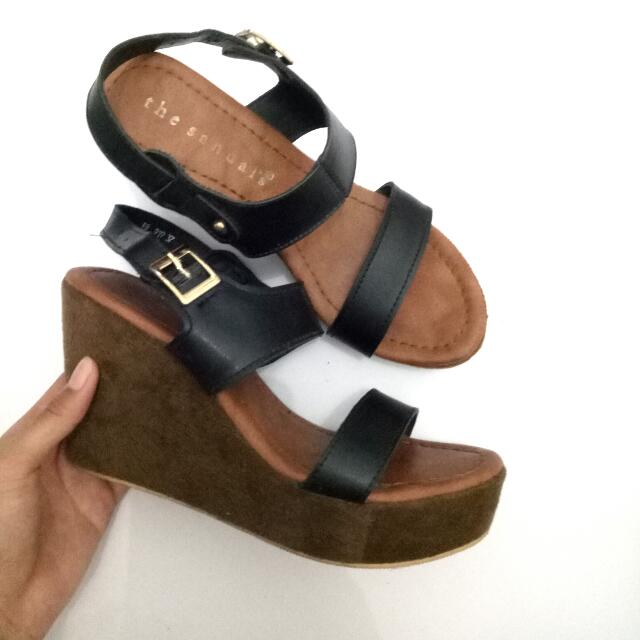 Wedges By The Sandals