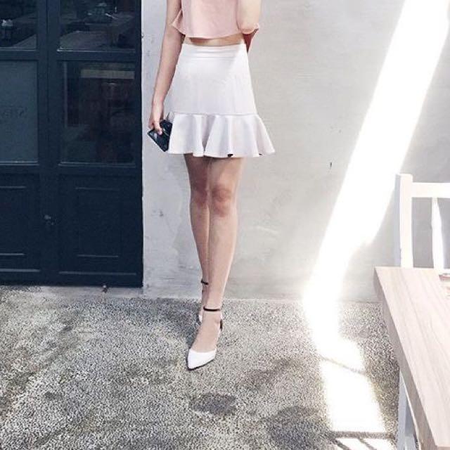 White Heels Like Zara