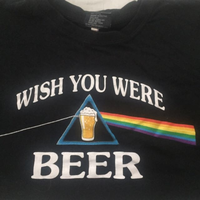 Wish You Were Beer Top Size Xl