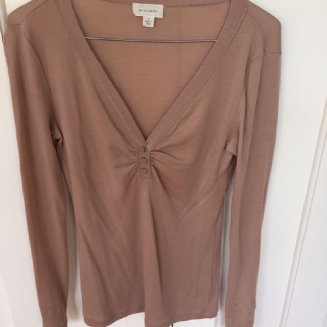 Witchery Blush Top Size S