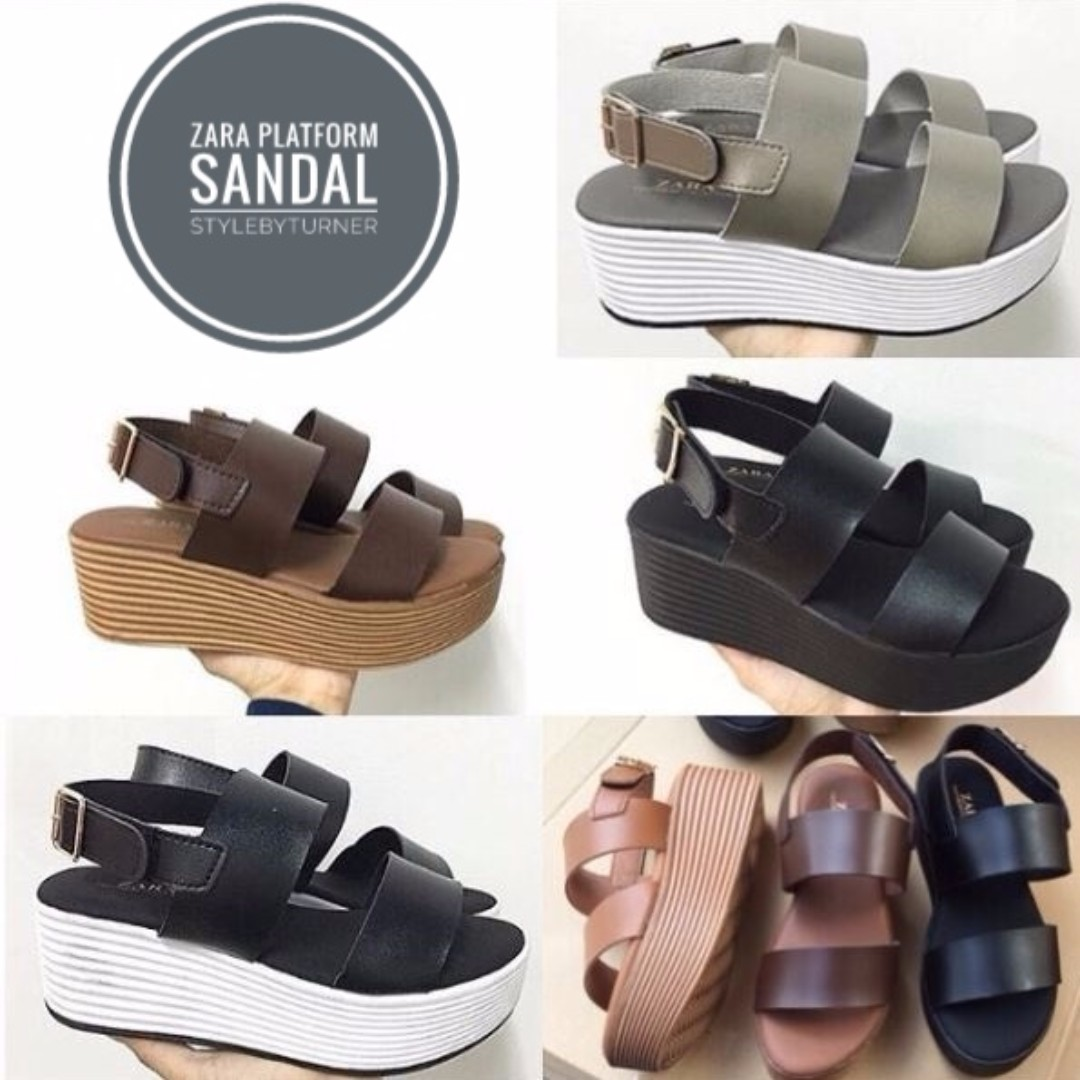 07d20347c184 Women s ZARA Platform Sandal (Silver)