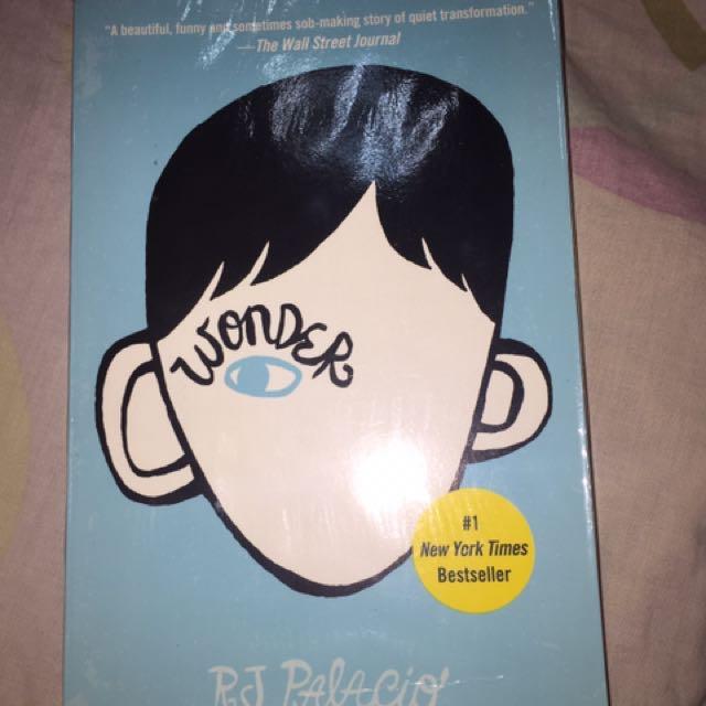 Wonder by R.J Palacio