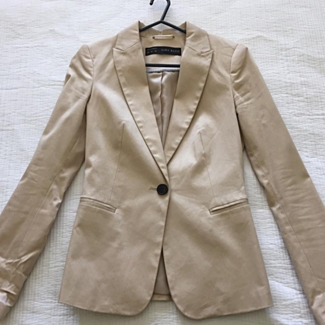 Zara blazor - beige