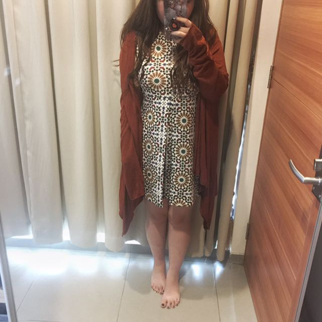 Zara Patrern Dress