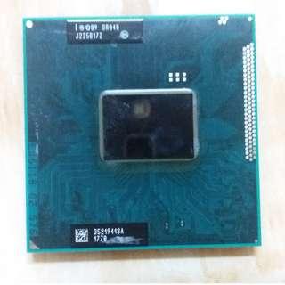 Intel Core i5-2520M SR048 2500 MHz 3200MHz (turbo) L2=512KB L3=3MB Socket G2 [rPGA 988B] Mobile processor for laptop