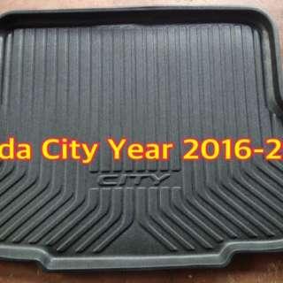 Honda City Year 2016-2017 Rear Cargo Trunk Tray