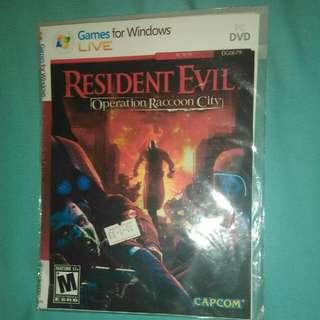DVD Installer Resident Evil: Operation Raccoon City