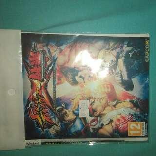 DVD Installer Tekken x Street Fighter