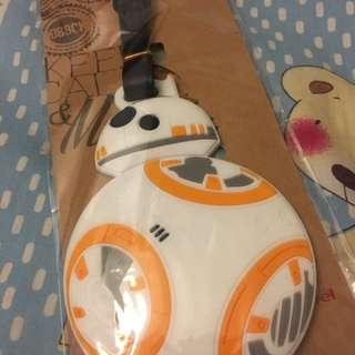星球大戰行李牌 Star Wars Luggage tag 鎖匙扣