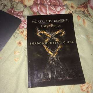 shadowhunter's guide the mortal instruments