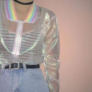 Tumblr Holographic Jacket