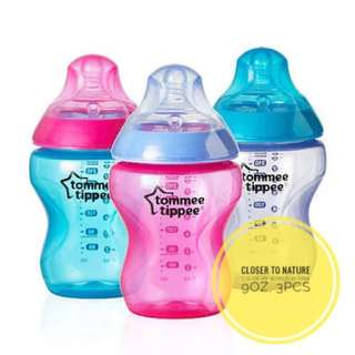 Tommee Tippee Closer To Nature Color My World Bottles