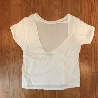 Urban Outfitters Cutout Top
