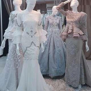 Hijab - wedding Gown