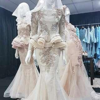 Hijab Wedding Gown