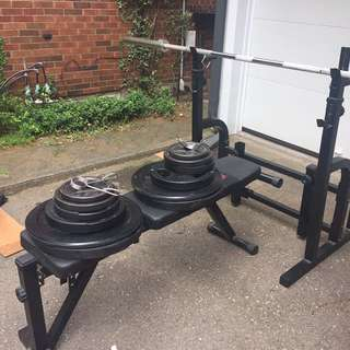 200 Pound Olympic Bench Press