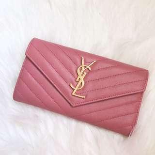 YSL wallet.